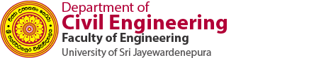 Department of Civil Engineering - University of Sri Jayewardenepura