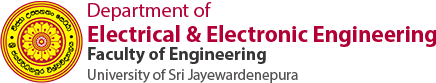 Department of Electrical and Eletronic Engineering, Faculty of Engineering, University of Sri Jayewardenepura